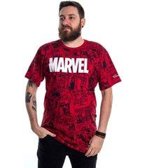 camiseta plus size marvel homem aranha peitoral vermelho