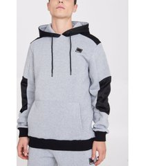 bench urbanwear hoodie with contrast panels
