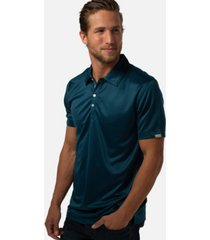 cariloha men's classic fit viscose from bamboo polo shirt