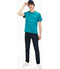camiseta lacoste regular fit verde - verde - masculino - dafiti