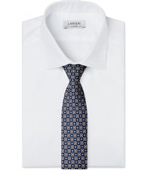 cravatta su misura, lanieri, londra blu, quattro stagioni | lanieri