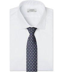 cravatta su misura, lanieri, londra blu, quattro stagioni