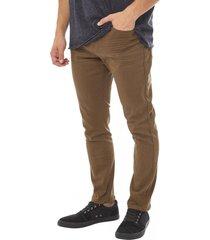 jeans color skinny marron corona