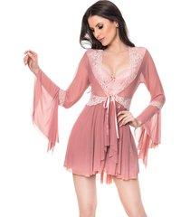 robe francesa cherry moda intima rose