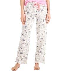 jenni printed pajama pants, created for macy's