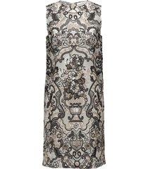 turlington lace korte jurk multi/patroon ganni