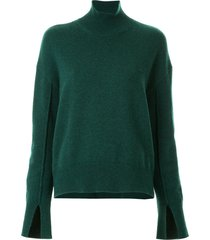 mrz loose fitted sweater - green