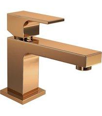 monocomando para banheiro mesa unic red gold 2875.gl90.rd - deca - deca