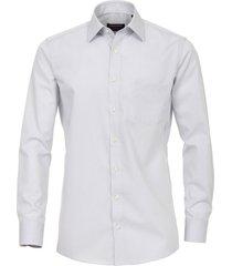 casamoda overhemd licht borstzak comfort fit kent non iron