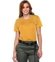 blusa en colores detalle en hombros marca trucco's