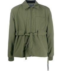 craig green tie-waist shirt jacket