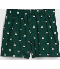boxer prints verde gap
