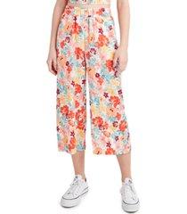 bcbgeneration floral-print wide-leg pants