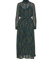 camou cora dress maxiklänning festklänning grön bruuns bazaar