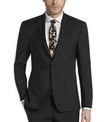 calvin klein x-fit infinite stretch black extreme slim fit suit