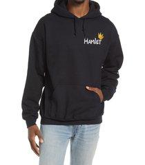men's altru men's hamlet hoodie, size medium - black