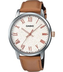 reloj casual marrón casio