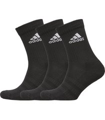 cush crw 3pp underwear socks regular socks svart adidas performance