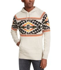 american rag men's aztec hoodie, created for macy's