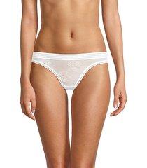 floral lace bikini panty