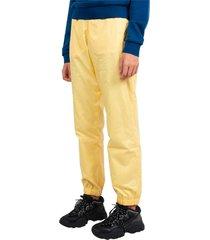 pantalon de survêtement jaune