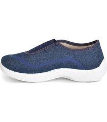 zapatilla azul gowell cécil