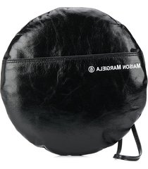 mm6 maison margiela round clutch bag - black