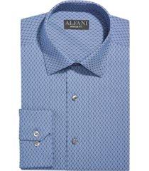 alfani men's classic-fit alfatech honeycomb shirt, created for macy's
