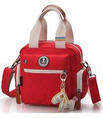 tela multifunzionale casual mamma borsa borsa a spalla spalla borsa borsa a tracolla borsa zaino
