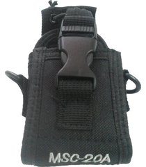 funda radio msc-20a nylon walkie talkie baofeng uv82 uv888s uv9r uv5r