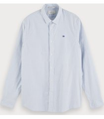 scotch & soda klassiek oxford overhemd | relaxed fit