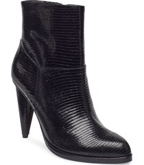 beatar shoes boots ankle boots ankle boots with heel svart tiger of sweden