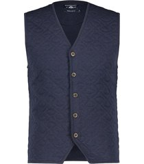 state of art gilet donkerblauw