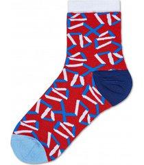 skarpetki adela ankle sock red
