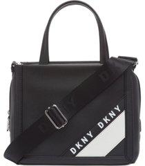 dkny bond satchel