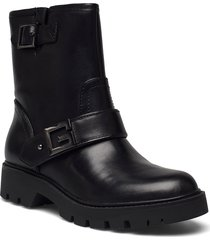 ragner2 shoes boots ankle boots ankle boot - flat svart guess