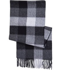 women's alpaca-wool buffalo check scarf