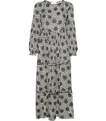 beate maxi dress jurk knielengte multi/patroon storm & marie