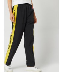 polo ralph lauren women's og track pant athletic pants - polo black - m