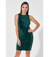 vestido verde mia loreto komplen