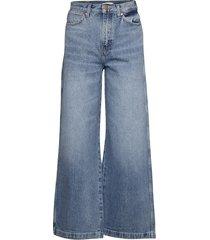 heritage wide leg - jeans wijde pijpen blauw wrangler