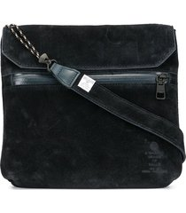 as2ov touch strap messenger bag - blue