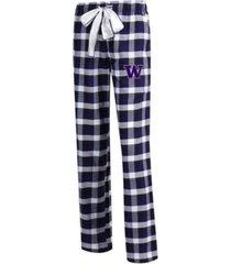 concepts sport women's washington huskies piedmont flannel pajama pants