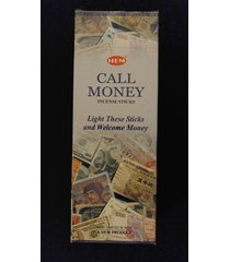 call money 6 boxes of 20 = 120 hem incense sticks bulk case retail display box