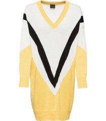 abito oversize in maglia (giallo) - rainbow