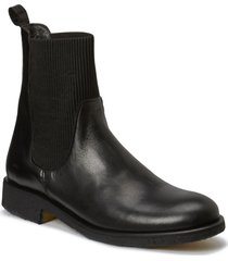 7317 shoes boots chelsea boots ankle boot - flat svart angulus