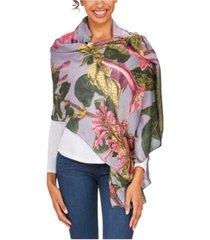 two's company magnolia scarf