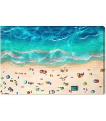 """oliver gal a day at the beach canvas art - 30"""" x 45"""" x 1.5"""""""