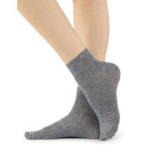 calzedonia fancy socks with linen woman grey size tu