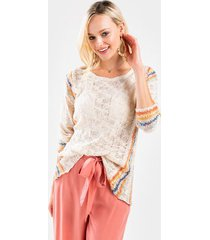 adell taupe sweater - taupe